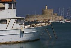Ελλάδα, ο λιμένας Στοκ φωτογραφία με δικαίωμα ελεύθερης χρήσης