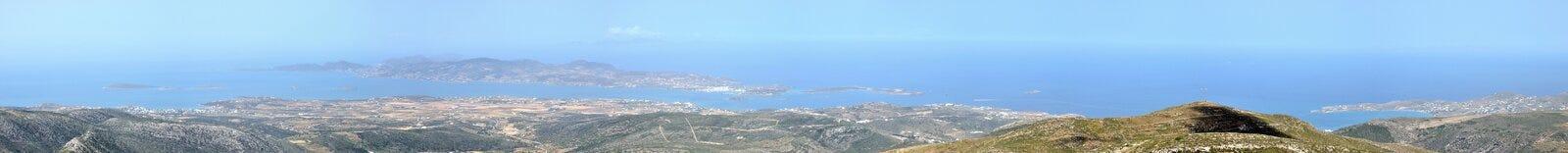 Ελλάδα, πανόραμα Antiparos Στοκ εικόνες με δικαίωμα ελεύθερης χρήσης