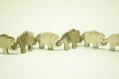 Ελέφαντας αλυσίδων Στοκ φωτογραφία με δικαίωμα ελεύθερης χρήσης