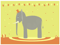 ελέφαντας λυπημένος Στοκ εικόνες με δικαίωμα ελεύθερης χρήσης