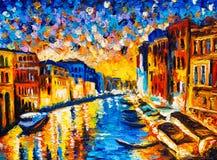 ελαιογραφία Βενετία τη&sigma Στοκ Φωτογραφίες