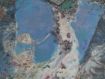 Ελαιογραφία σύστασης συντάκτης ρωμαϊκό Nogin, συζήτηση γυναικών ` s σειράς ` `, έκδοση συντακτών ` s του χρώματος Στοκ εικόνα με δικαίωμα ελεύθερης χρήσης