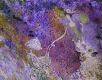 Ελαιογραφία σύστασης συντάκτης ρωμαϊκό Nogin, συζήτηση γυναικών ` s σειράς ` `, έκδοση συντακτών ` s του χρώματος Στοκ Φωτογραφία