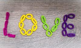 Ελαστικές ζώνες τρίχας Hairbands Στοκ Φωτογραφία