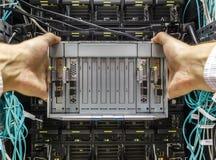 Ελαττωματικός κεντρικός υπολογιστής λεπίδων Στοκ φωτογραφίες με δικαίωμα ελεύθερης χρήσης