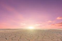 Εδαφολογικό ραγισμένο ξηρασία τοπίο στοκ φωτογραφία με δικαίωμα ελεύθερης χρήσης
