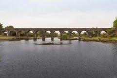 Ελαφριά γέφυρα σιδηροδρόμων Στοκ Φωτογραφία