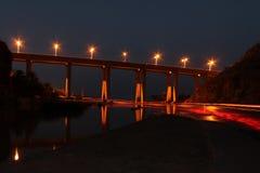 Ελαφριά γέφυρα Στοκ Εικόνες