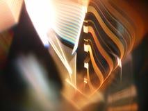 Ελαφριά ζωγραφική & απίστευτη ελαφριά διάθλαση Στοκ Εικόνα