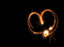 Ελαφριά καρδιά στοκ φωτογραφία με δικαίωμα ελεύθερης χρήσης