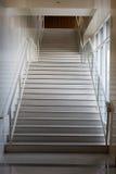 Ελαφριά μαρμάρινη σκάλα Στοκ Φωτογραφία