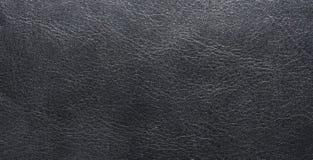 Ελαφριά μαύρη σύσταση του φυσικού δέρματος, με τις φλέβες Σύσταση δέρματος Στοκ Εικόνες