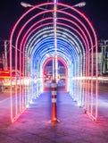 ελαφριά νύχτα Στοκ Εικόνες