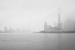 Ελαφριά ομίχλη, Κίνα Στοκ Εικόνες