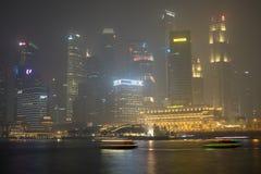 Ελαφριά ομίχλη στη Σιγκαπούρη Στοκ Φωτογραφίες