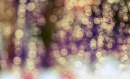 Ελαφριά πτώση υποβάθρου σκιαγραφιών στο γυαλί Στοκ εικόνα με δικαίωμα ελεύθερης χρήσης
