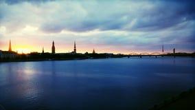 Ελαφριά πόλη Στοκ Εικόνες