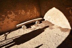 ελαφριά σκιά Αρχαία θέση Στοκ Φωτογραφία