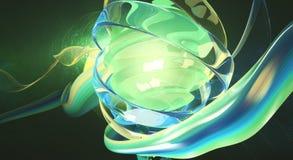 Ελαφριά ψηφιακή τέχνη διανυσματική απεικόνιση
