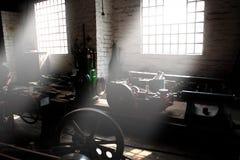 Ελαφριές ακτίνες Α εργοστασίων Στοκ Εικόνα