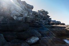 ελαφριές ακτίνες Στοκ εικόνα με δικαίωμα ελεύθερης χρήσης