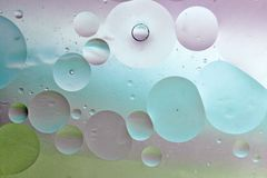 Ελαφριές φυσαλίδες Στοκ εικόνα με δικαίωμα ελεύθερης χρήσης