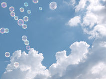 Ελαφρότητα, καθαρός αέρας και ελευθερία Έννοια στοκ φωτογραφία με δικαίωμα ελεύθερης χρήσης