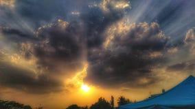ελαφρύς ήλιος Στοκ Εικόνες