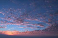 Ελαφρύς ουρανός Beautuful Στοκ Εικόνα