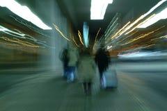 Ελαφρύς παρουσιάστε, μακροχρόνια έκθεση, ελαφριά ζωγραφική Στοκ φωτογραφία με δικαίωμα ελεύθερης χρήσης