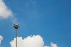 Ελαφρύς Πολωνός με έναν μπλε ουρανό Στοκ Φωτογραφίες