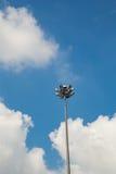 Ελαφρύς Πολωνός με έναν μπλε ουρανό Στοκ εικόνα με δικαίωμα ελεύθερης χρήσης