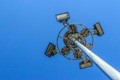 Ελαφρύς πόλος σταδίων Στοκ εικόνες με δικαίωμα ελεύθερης χρήσης