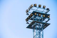 Ελαφρύς πύργος μετάλλων Στοκ Φωτογραφίες