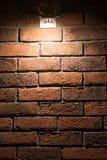 ελαφρύς τοίχος σημείων Στοκ Φωτογραφίες