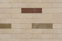 ελαφρύς τοίχος τούβλου Στοκ Φωτογραφίες