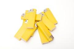 Ελαφρύτερος κίτρινος στοκ εικόνες