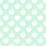 Ελαφρύ άνευ ραφής υπόβαθρο σχεδίων της Apple Στοκ εικόνα με δικαίωμα ελεύθερης χρήσης