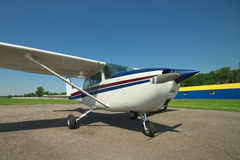 ελαφρύ αεροπλάνο ιδιωτι Στοκ εικόνα με δικαίωμα ελεύθερης χρήσης