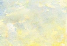 Ελαφρύ αφηρημένο ζωηρόχρωμο χρωματισμένο υπόβαθρο watercolor διαρροών Στοκ Φωτογραφίες