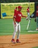 Ελαφρύ κτύπημα Burrell, Philadelphia Phillies Στοκ Φωτογραφίες