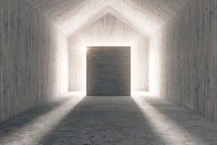 Ελαφρύ ξύλινο εσωτερικό ελεύθερη απεικόνιση δικαιώματος