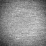 Ελαφρύ υπόβαθρο σύστασης τζιν Γκρίζος καμβάς Στοκ Φωτογραφίες