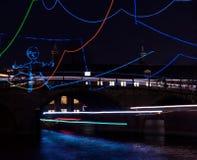 Ελαφρύ φεστιβάλ 2016 του Άμστερνταμ Στοκ φωτογραφία με δικαίωμα ελεύθερης χρήσης