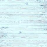 Ελαφρύ χρωματισμένο τυρκουάζ εκλεκτής ποιότητας ξύλο Στοκ εικόνες με δικαίωμα ελεύθερης χρήσης