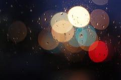 Ελαφρύ Bokeh στο παράθυρο Στοκ φωτογραφία με δικαίωμα ελεύθερης χρήσης