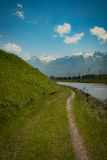 Ελβετία Ρήνος Στοκ Εικόνες