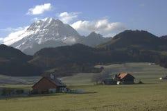 Ελβετία cheeseland Στοκ Εικόνα