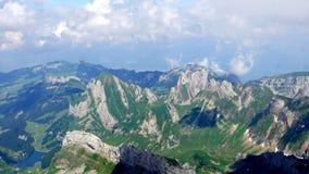 Ελβετικά βουνά Στοκ εικόνα με δικαίωμα ελεύθερης χρήσης