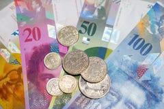 Ελβετικά χρήματα στοκ φωτογραφία με δικαίωμα ελεύθερης χρήσης